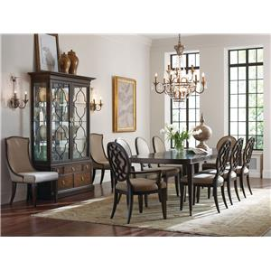 American Drew Grantham Hall Formal Dining Room Group 3
