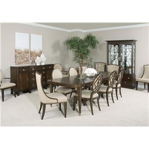 American Drew Grantham Hall Formal Dining Room Group 4