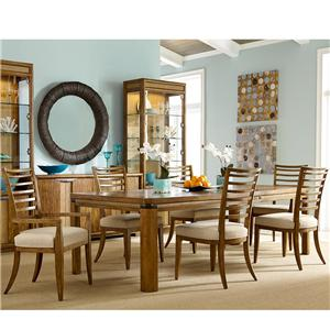 American Drew Grove Point Table and Chair Set