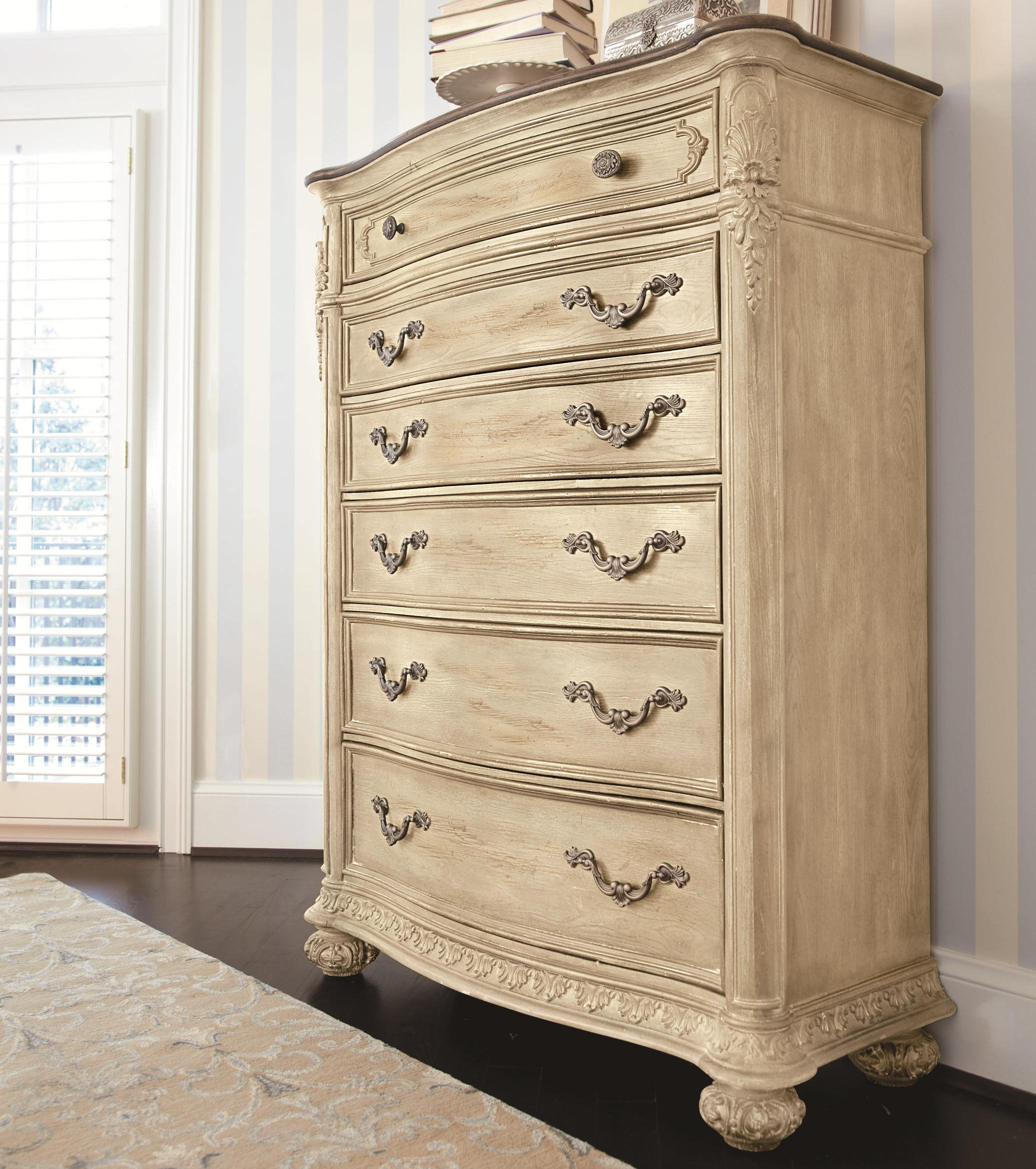 Drawer Chest With Foliage Molded Edges By American Drew Wolf And Gardiner Wolf Furniture