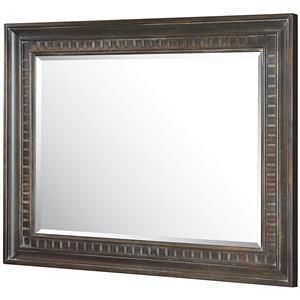 American Drew Manchester Court Landscape Mirror