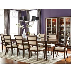 American Drew Motif Table and Chair Set