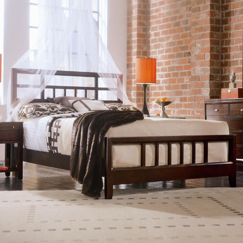 Queen Slat Bed By American Drew Wolf And Gardiner Wolf Furniture