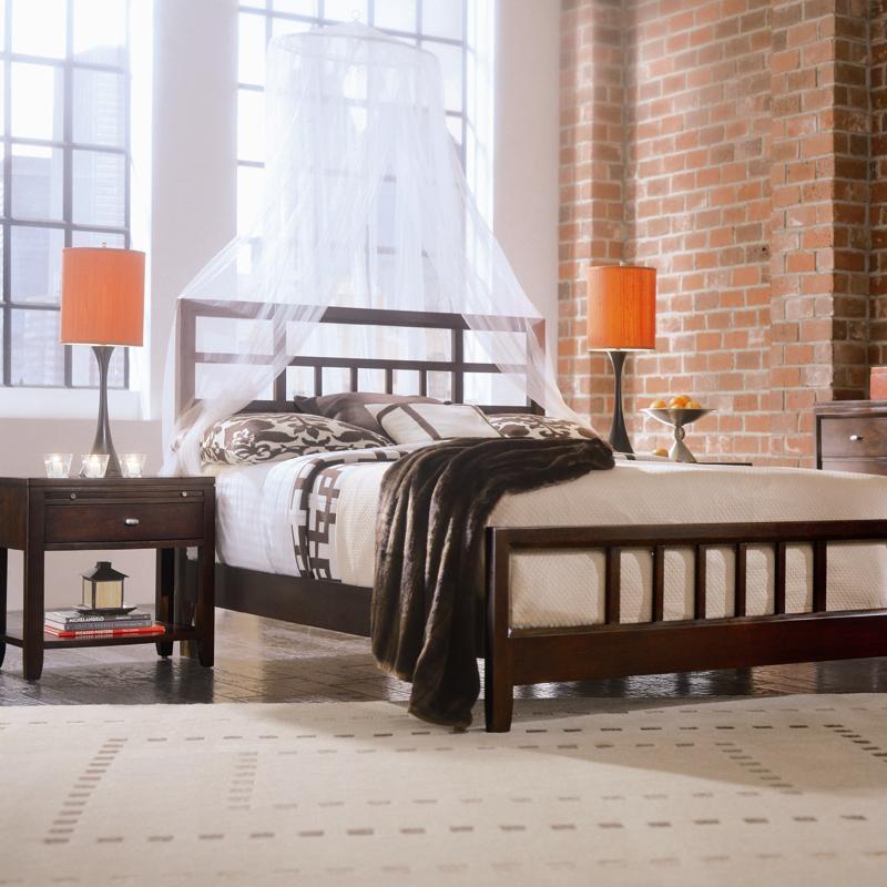 american drew bedroom leg nightstand 912 400 trivett s