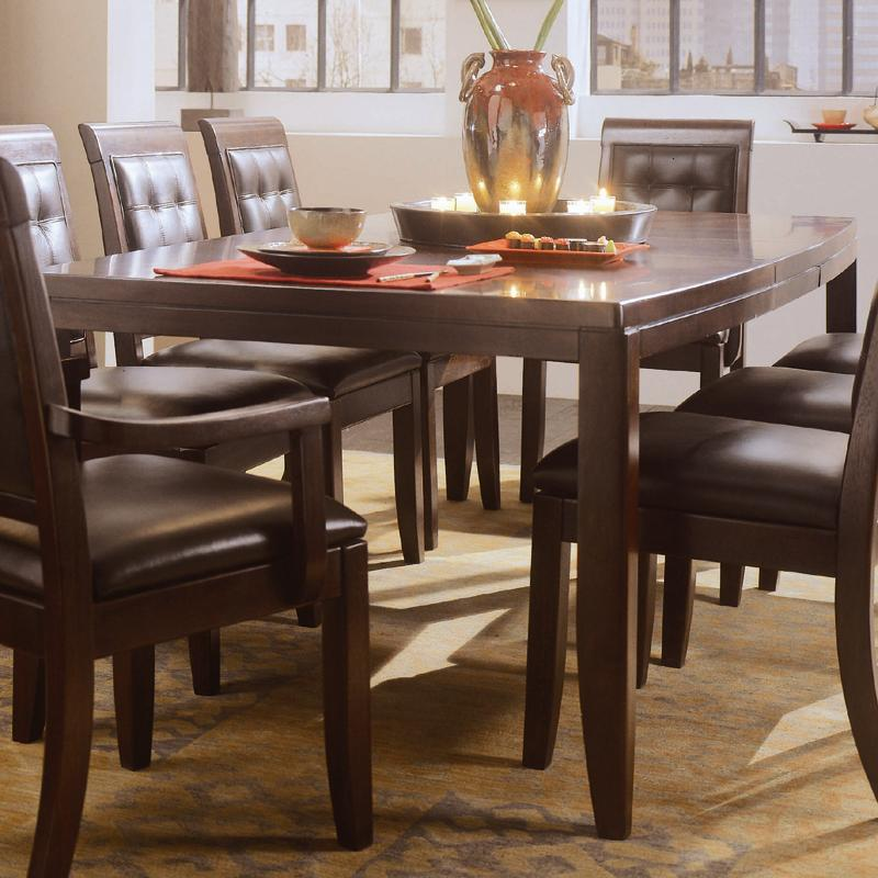 Rectangular Leg Formal Dining Table By American Drew Wolf And Gardiner Wolf Furniture