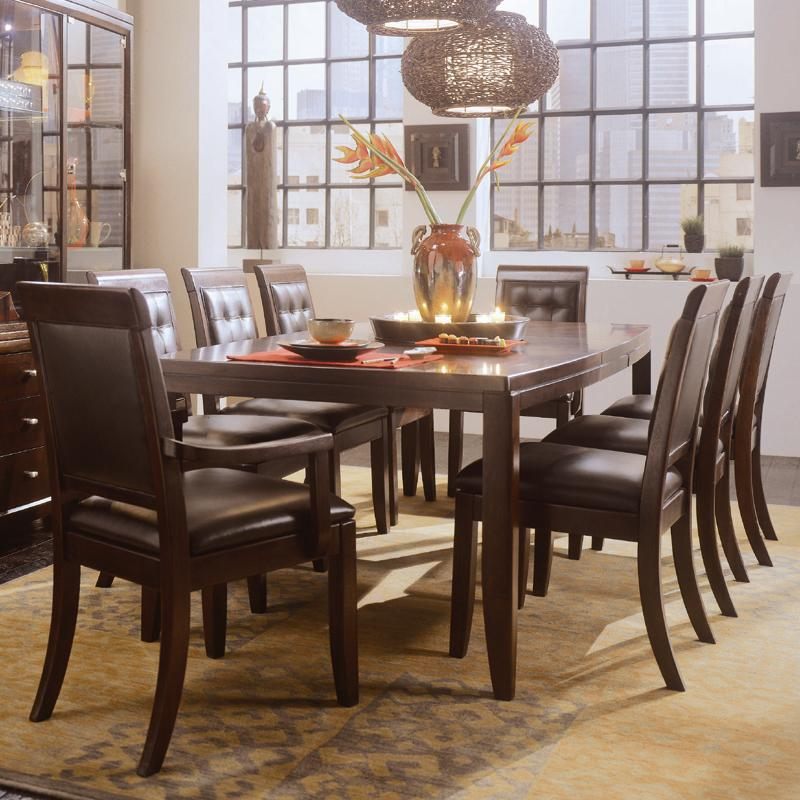 Rectangular Leg Formal Dining Table By American Drew