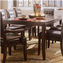 American Drew Tribecca Rectangular Leg Formal Dining Table