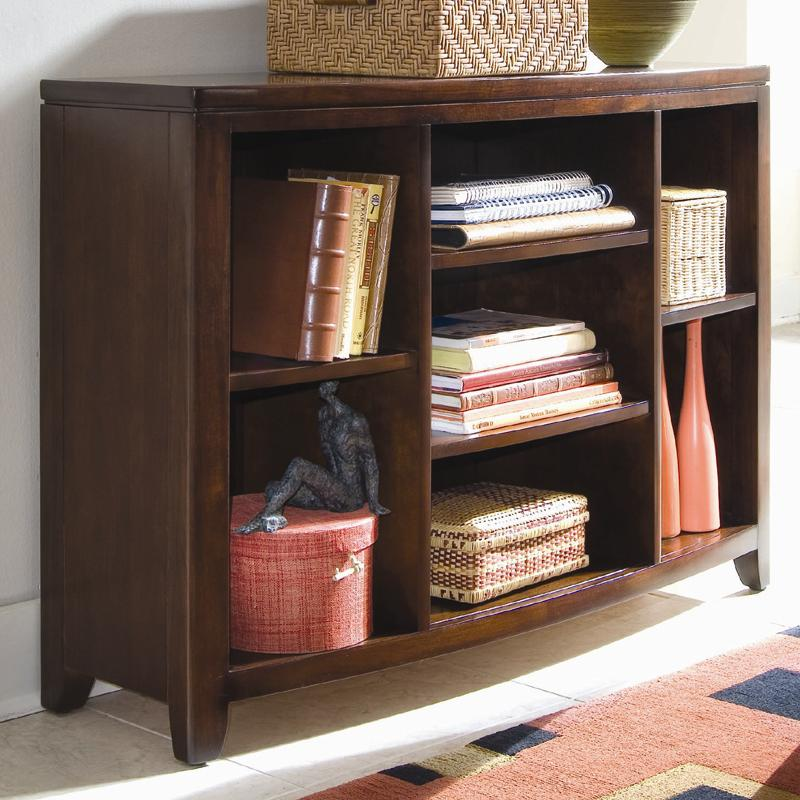 Bookcase Console With 4 Adjustable Shelves By American Drew Wolf And Gardiner Wolf Furniture