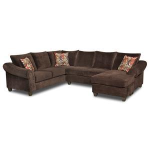 Vendor 610 2800 Sectional Sofa