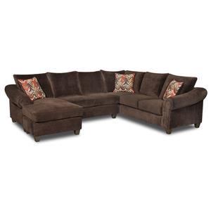 American Furniture 2800 Sectional Sofa