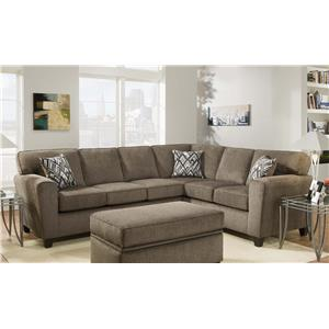 American Furniture 3100 Sectional Sofa