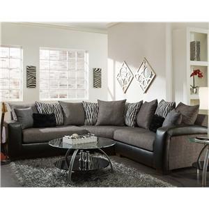 American Furniture 3560 Sectional Sofa