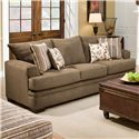 American Furniture 3650 Casual Queen Sofa Sleeper with 3 Seats - Sofa Shown May Not Represent Exact Features Indicated