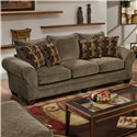 American Furniture 3700 Upholstered Stationary Sofa - Item Number: 3703 M
