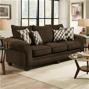 American Furniture 3700 Upholstered Stationary Sofa