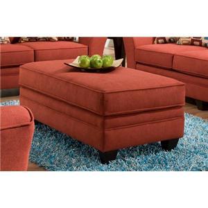 American Furniture 3850 Haskett Algerian Ottoman