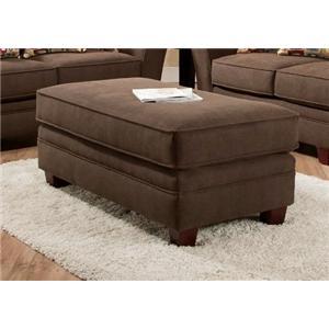 American Furniture 3850 Haskett Walnut Ottoman