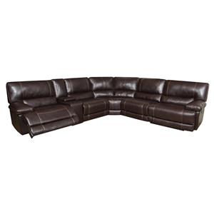 American Furniture AF800 Reclining Sectional Sofa