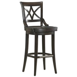"""American Heritage Billiards Bar Stools 26"""" Fremont Counter Height Stool"""