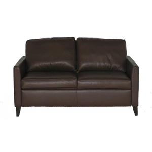 American Leather Comfort Sleeper - Hannah Contemporary Full Sofa Sleeper
