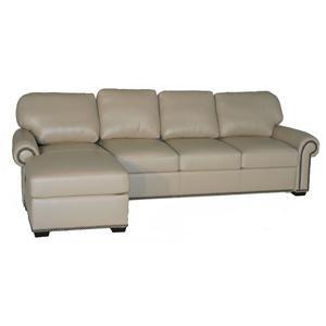 American Leather Comfort Sleeper - Makayla Traditional 2 Piece Sectional