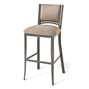 """Amisco Countryside 30"""" Bar Height Lilly Stool"""
