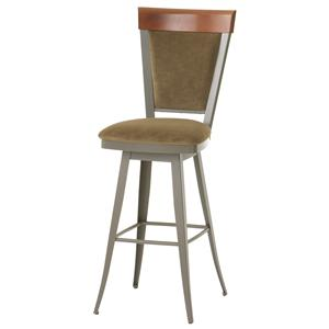 "Amisco Countryside Eleanor 34"" Swivel Stool"