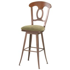 "Amisco Countryside 30"" Cynthia Swivel Stool"