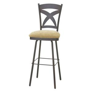 "Amisco Countryside 30"" Bar Height Marcus Stool"
