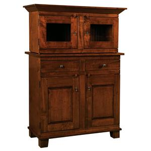 Amish Impressions by Fusion Designs Wellington Buffet with Top