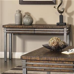 APA by Whalen Strata Industrial Sofa Table