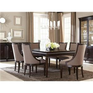 A.R.T. Furniture Inc Classics 7-Piece Leg Dining Table Set