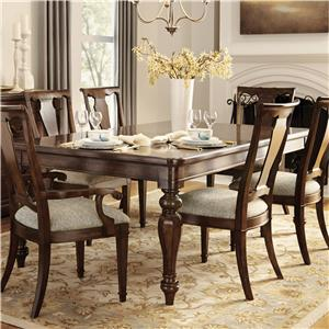 Belfort Signature Edwards Ferry Leg Dining Table
