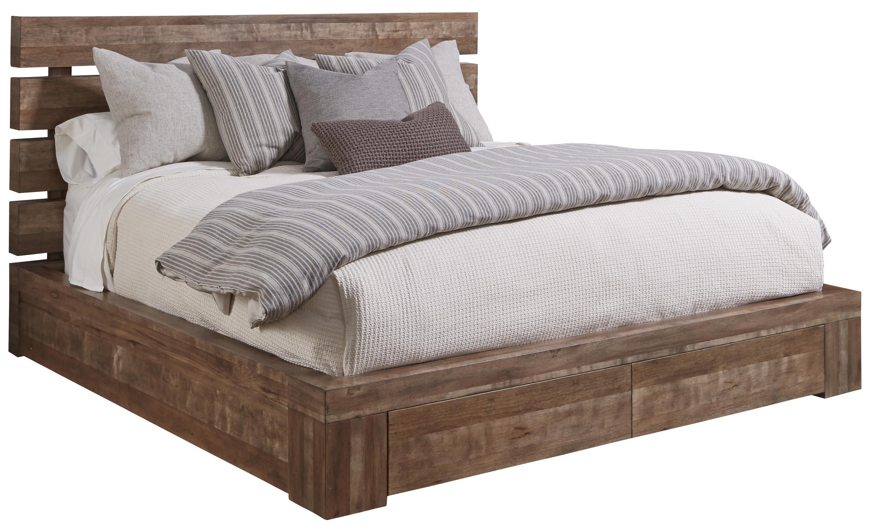 king storage bed intercon furniture hayden queen sleigh storage  - king platform storage bed