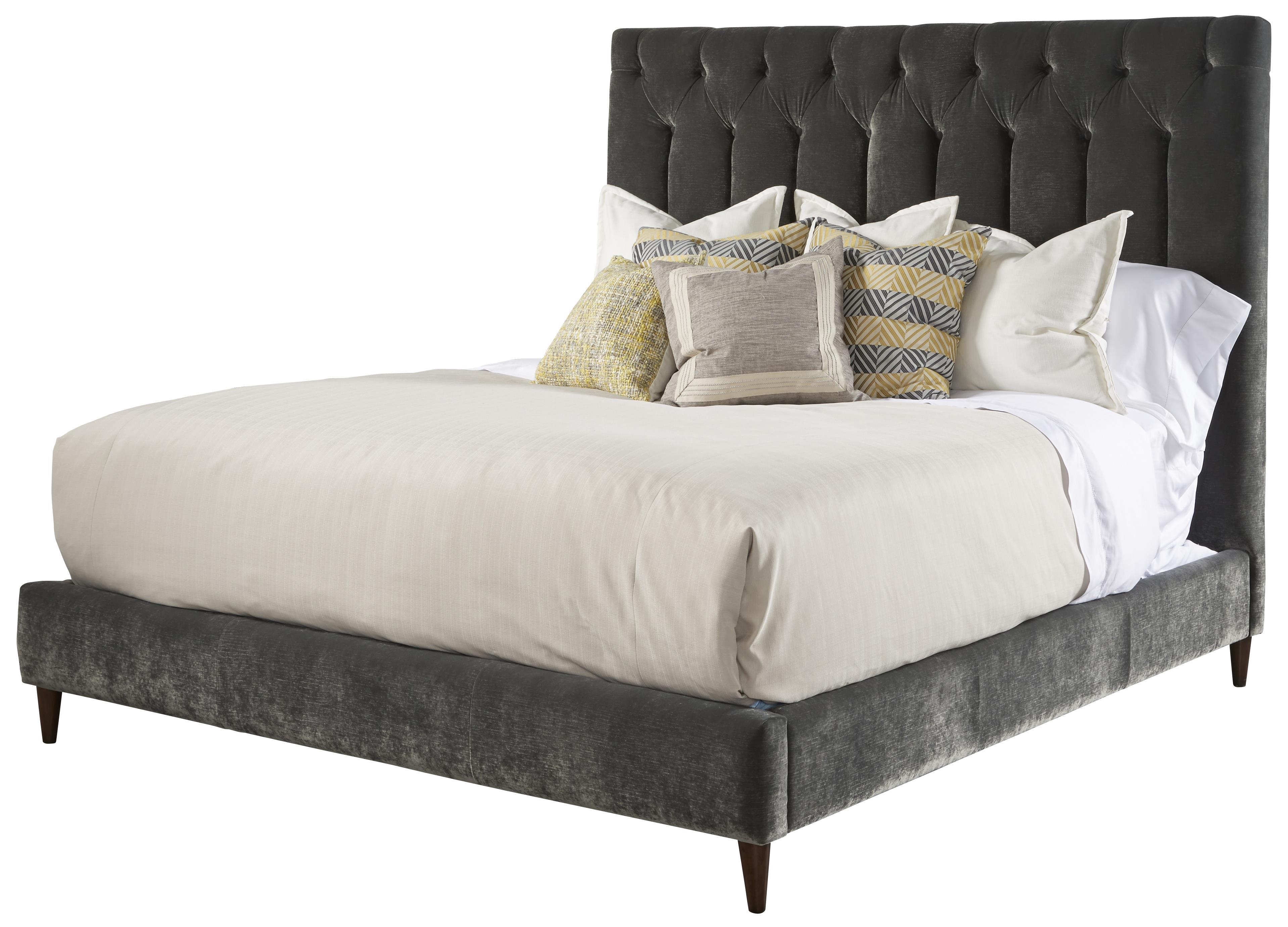king silver lake upholstered platform bed - Upholstered Platform Bed
