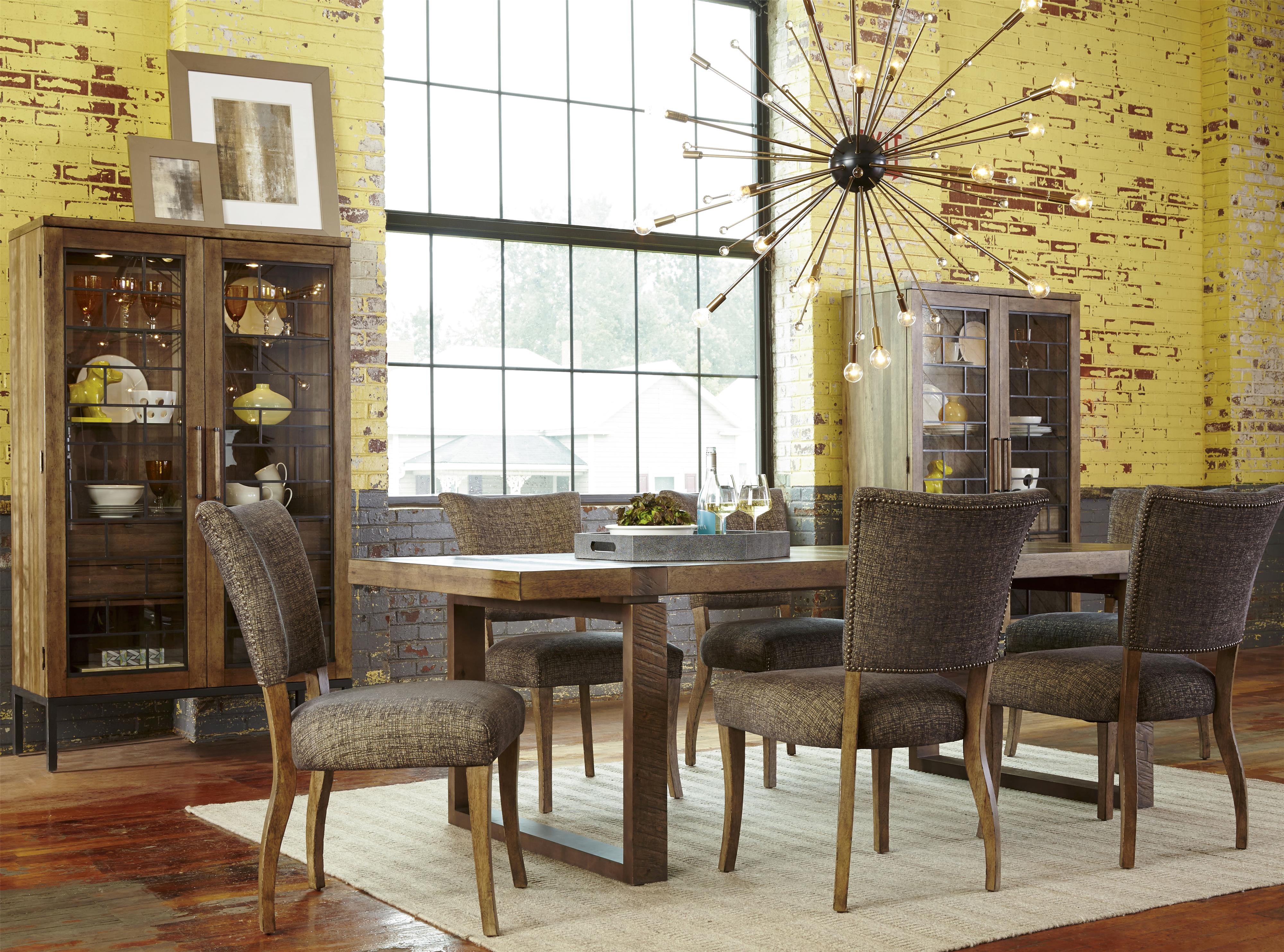 ... Dining Room Display Cabinet Wood And Metal Williamsburg Display Cabinet  By A R T Furniture ...