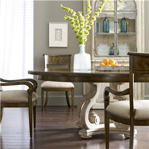 A.R.T. Furniture Inc Firenze 3-Piece Round Dining Table Set