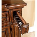 A.R.T. Furniture Inc Marbella Chest with 6 Full Sized Drawers and 2 Jewelry Drawers - Hidden Jewelry Storage