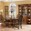 A.R.T. Furniture Inc Marbella China Buffet Base - Shown with Dining Set