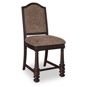 A.R.T. Furniture Inc Marbella Noir Upholstered Back Counter-Height Chair