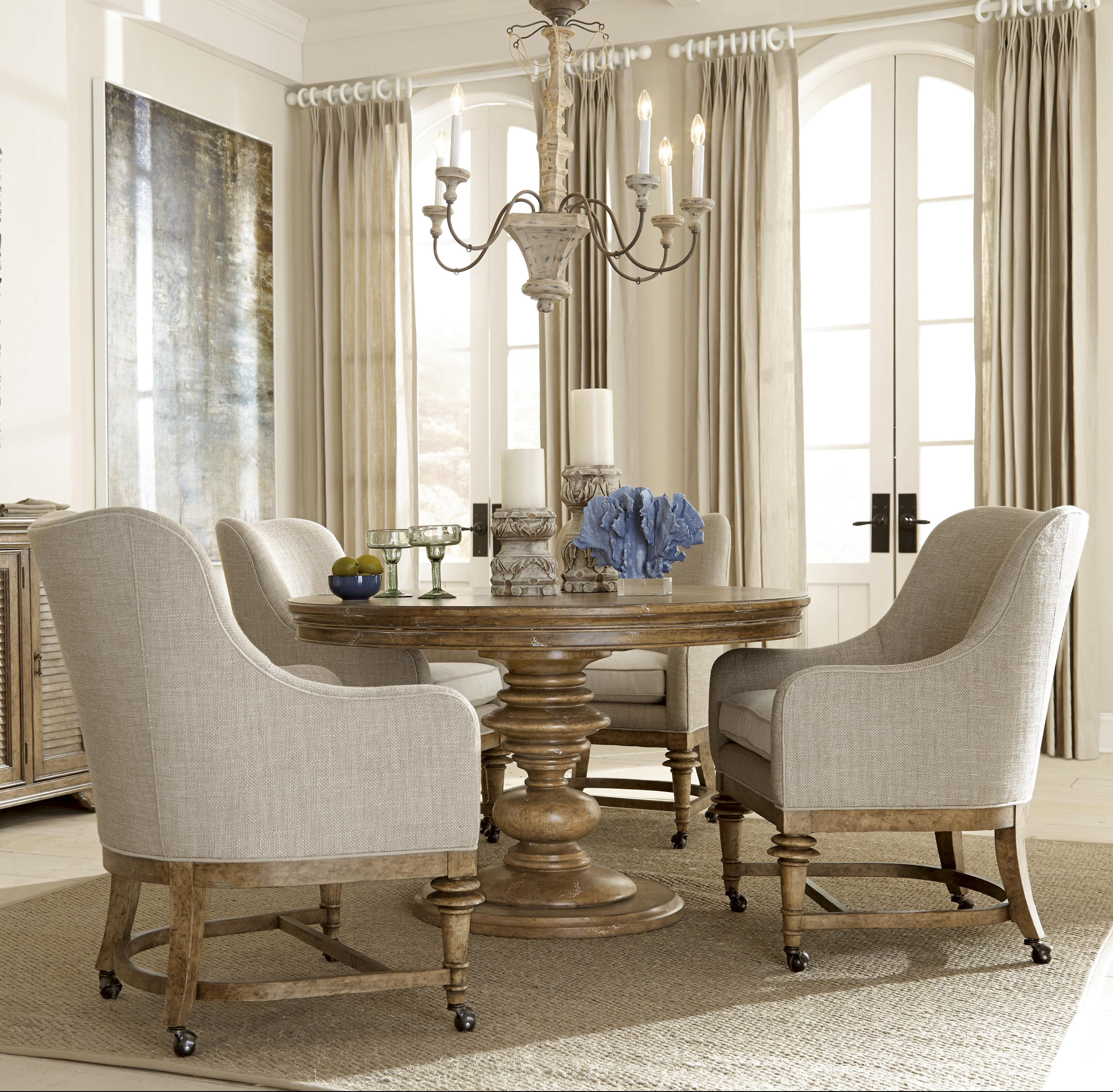 5 Piece Round Table With Party Chairs