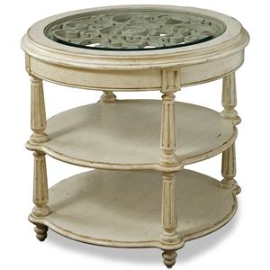 A.R.T. Furniture Inc Provenance Round Lamp Table