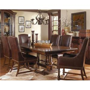 A.R.T. Furniture Inc Whiskey Oak Formal Dining Room Group