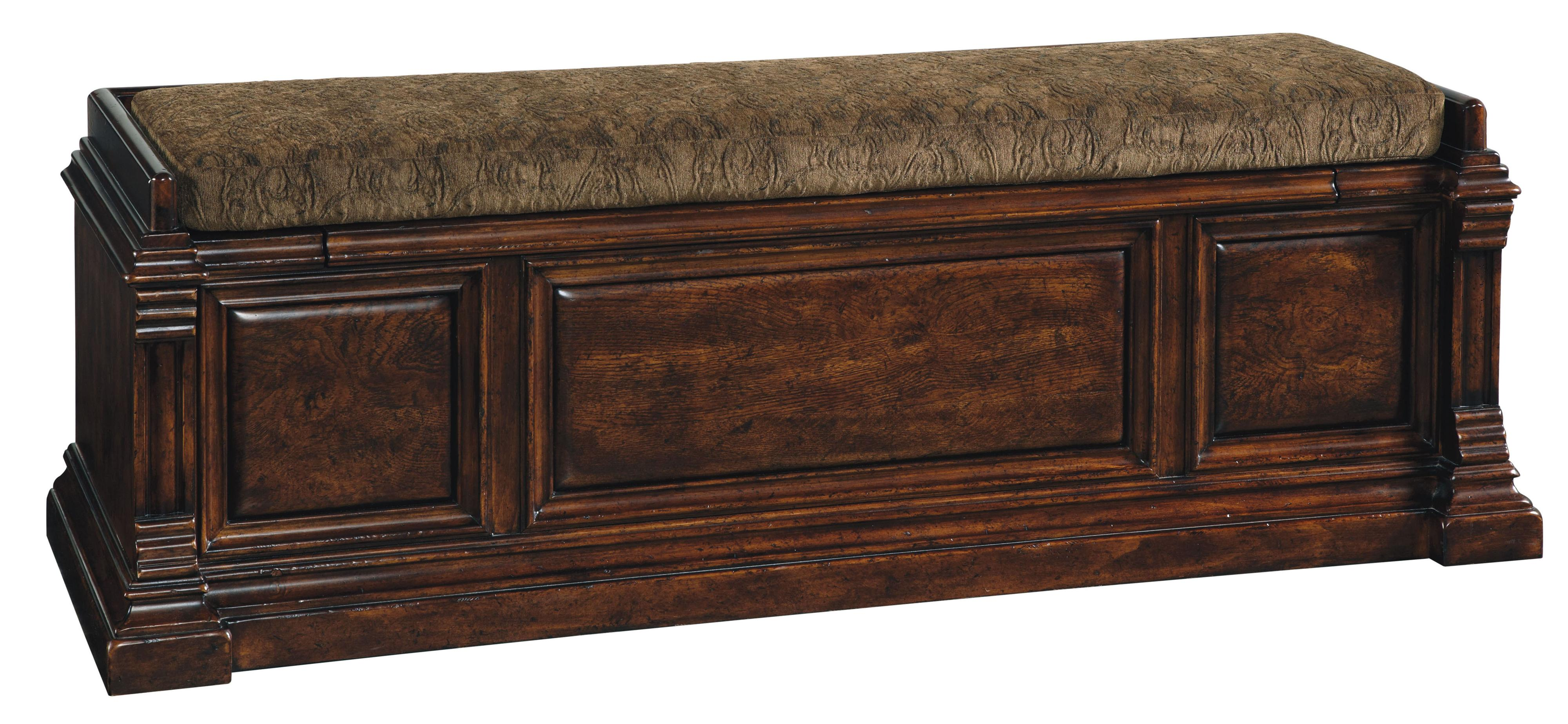 Exceptional Loose Cushioned Storage Bench