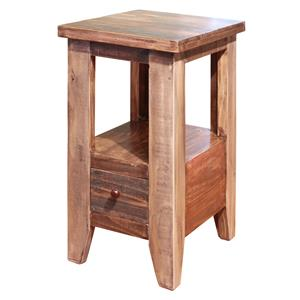 International Furniture Direct Antique Chair Side Table