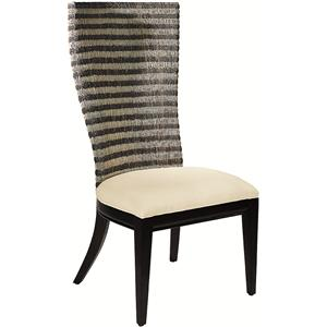 Artistica Bento Woven Back Side Chair