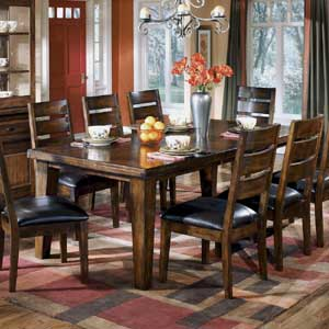 Signature Design by Ashley Furniture Larchmont Extension Table