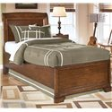 Signature Design by Ashley Alea Twin Sleigh Bed - Item Number: B447-63+62+83