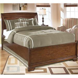 StyleLine PAUPAK Full Sleigh Bed