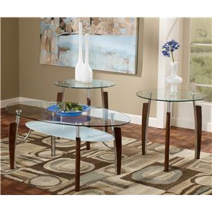 Signature Design by Ashley Avani 3-in-1 Pack Occasional Tables